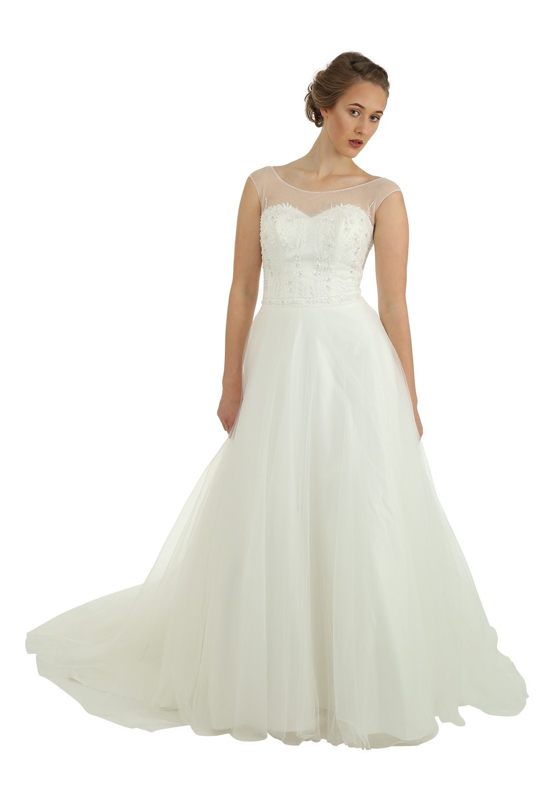 Victoria Kay Ella Collection E25 Wedding Dress, Ivory