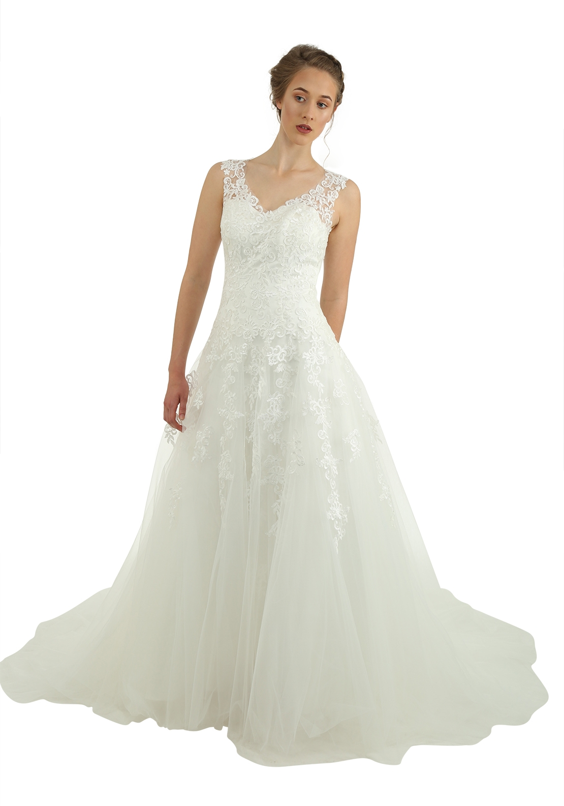 Victoria Kay Ella Collection E101 Wedding Dress, Ivory