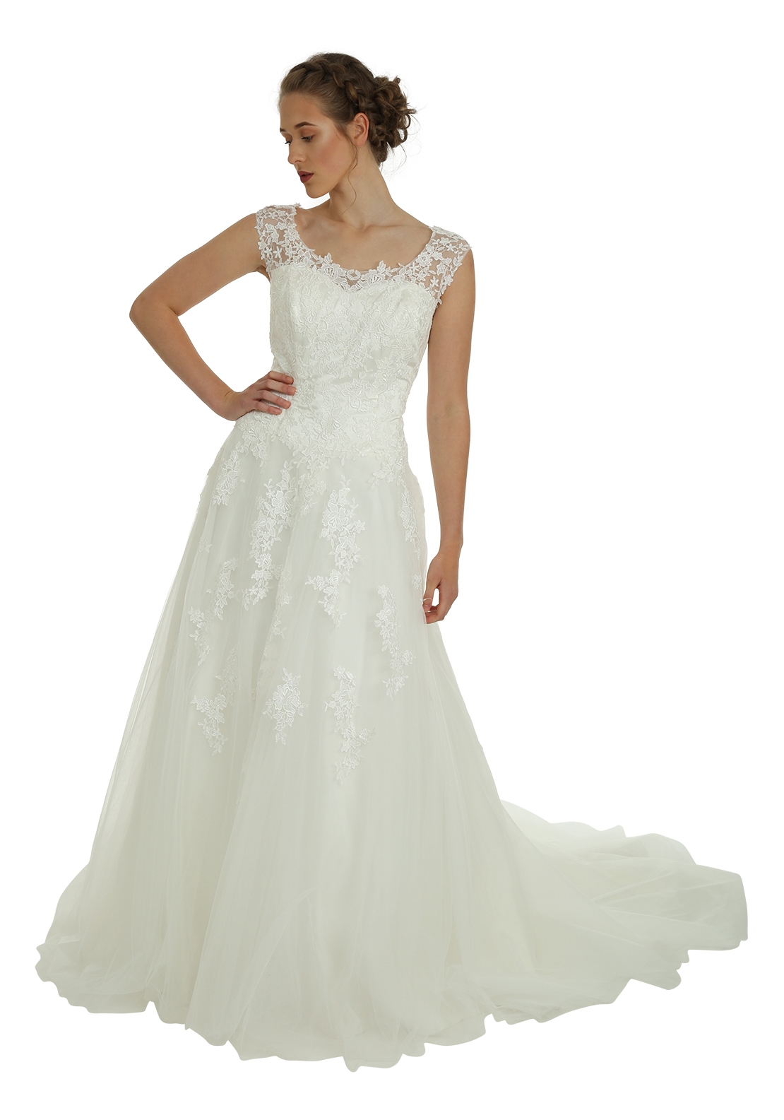 Victoria Kay Ella Collection E102 Wedding Dress, Ivory