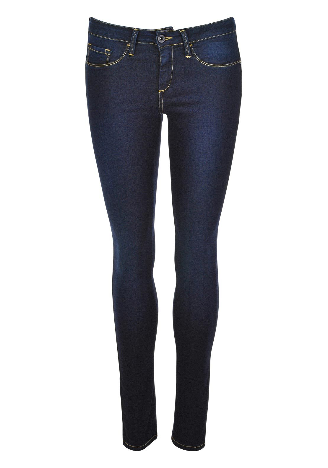 Tiffosi One Size Fits All Skinny Jeans, Dark Denim