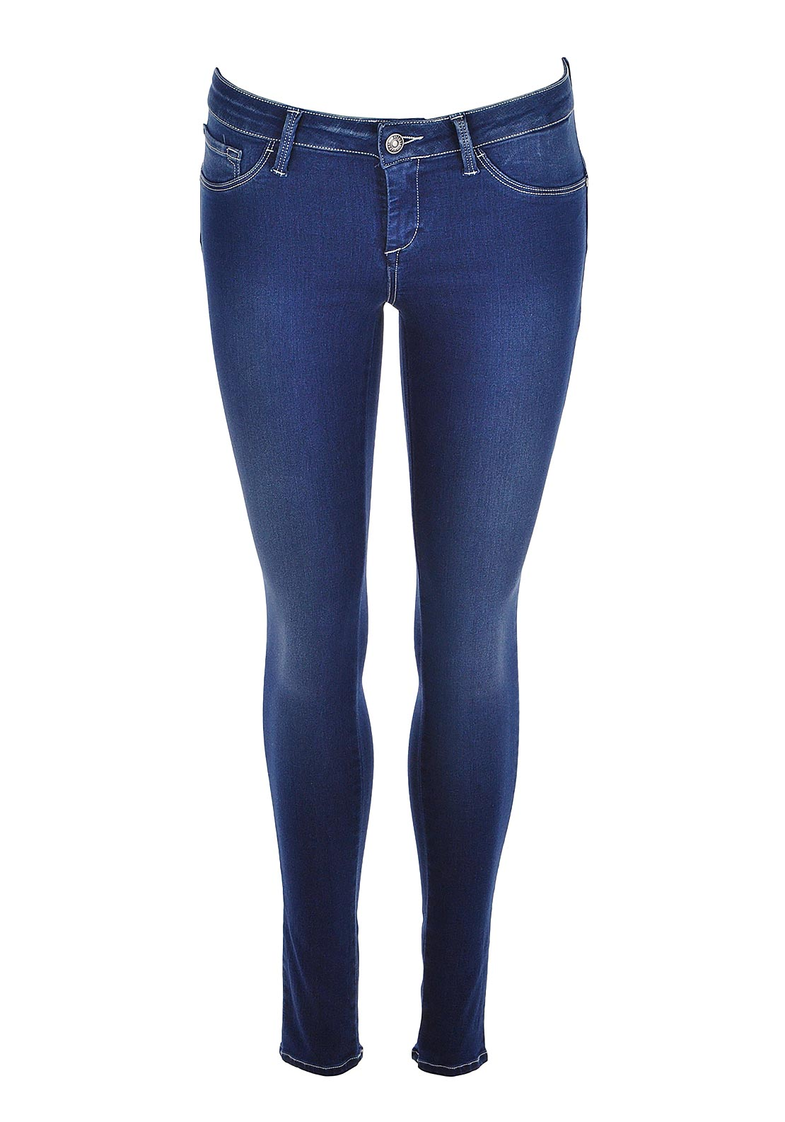 Tiffosi One Size Fits All Up Jeans, Mid Blue
