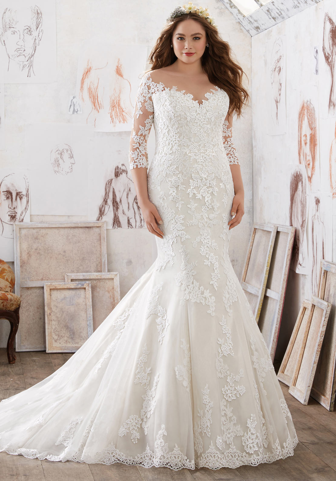 Mori Lee Julietta 3212 Wedding Dress
