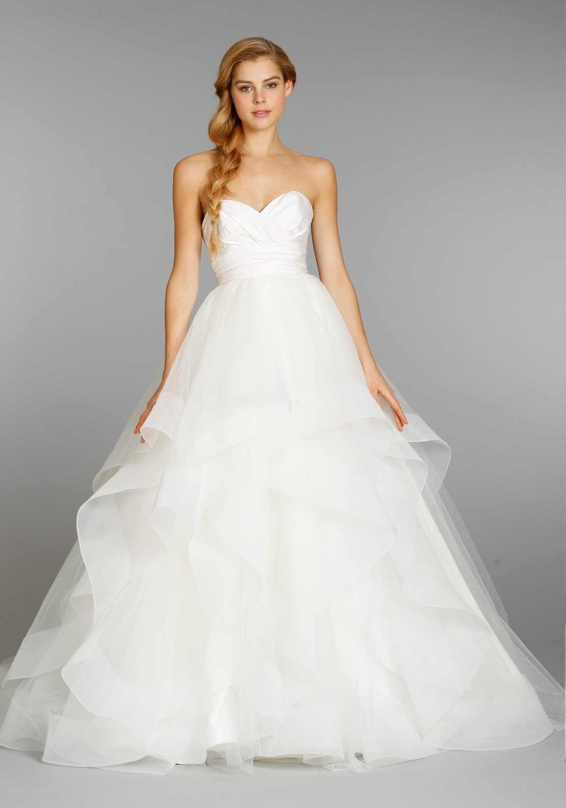 HAYLEY PAIGE BRIDAL US SIZES 10S IVO