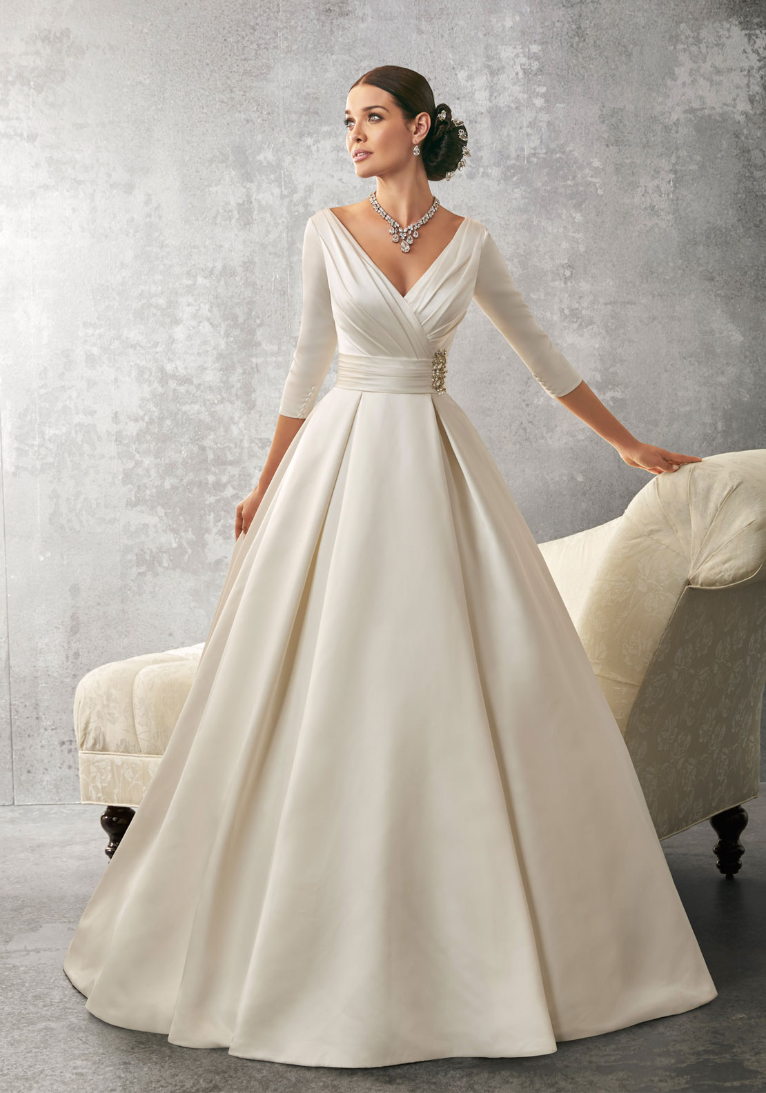 Ronald Joyce 69155 Wedding Dress UK Size 12 Ivory
