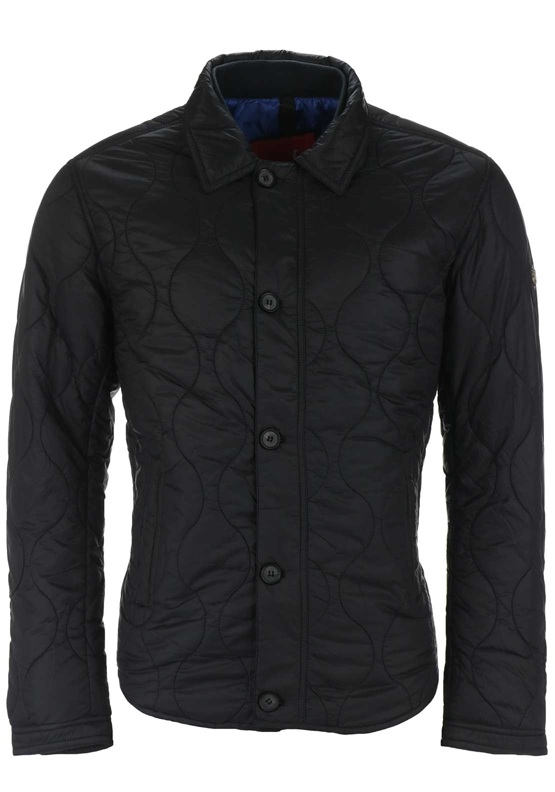 6th Sense Mens Carey Fashion Puffa Jacket, Black