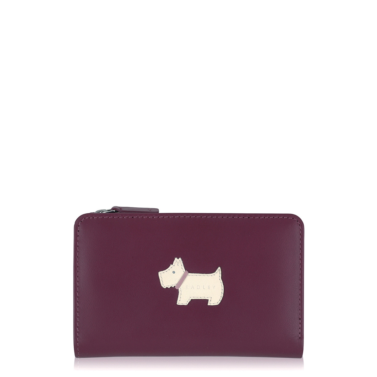 Radley Heritage Dog Flap over Purse, Burgundy