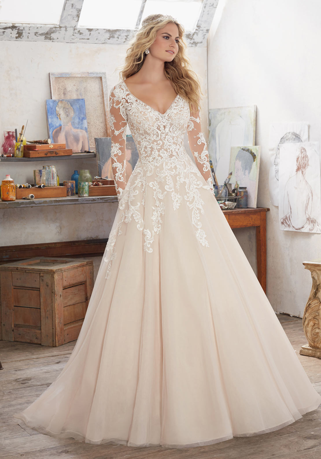 Mori Lee 8110 Wedding Dress