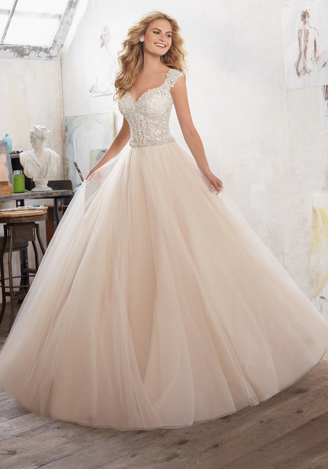 Mori Lee 8126 Wedding Dress