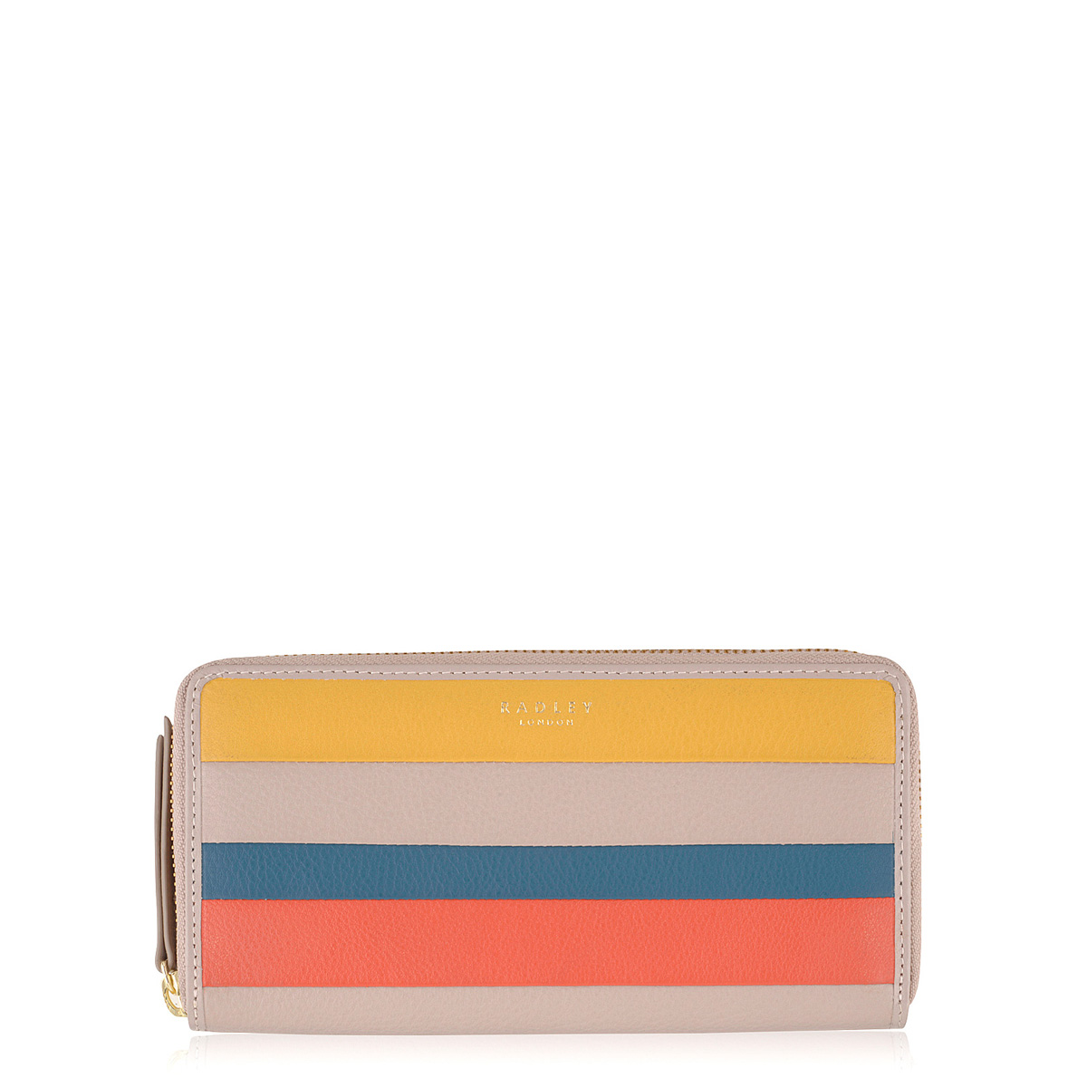 Radley Willow Stripe Large Zip Purse