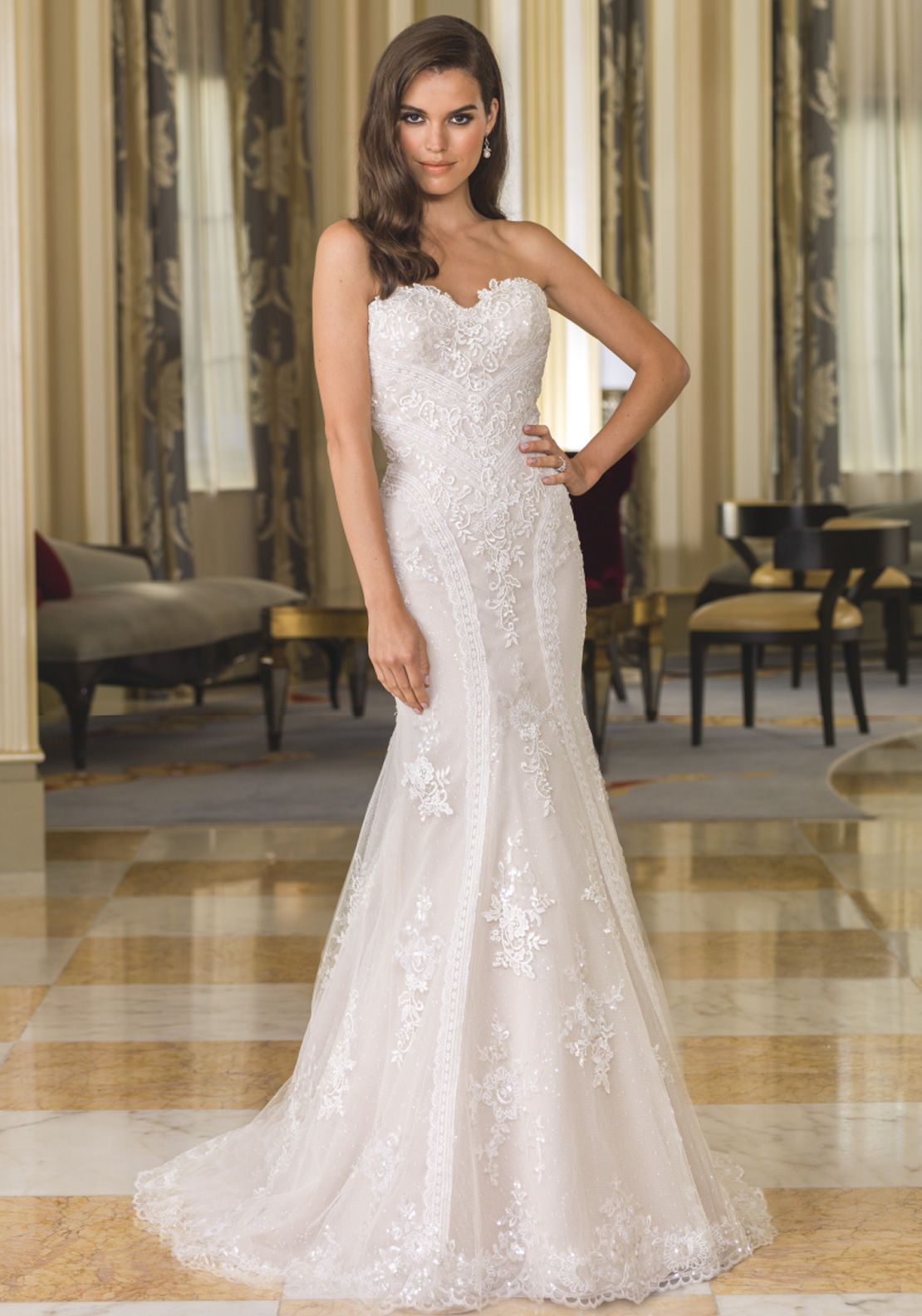 Justin Alexander 8862 Wedding Dress