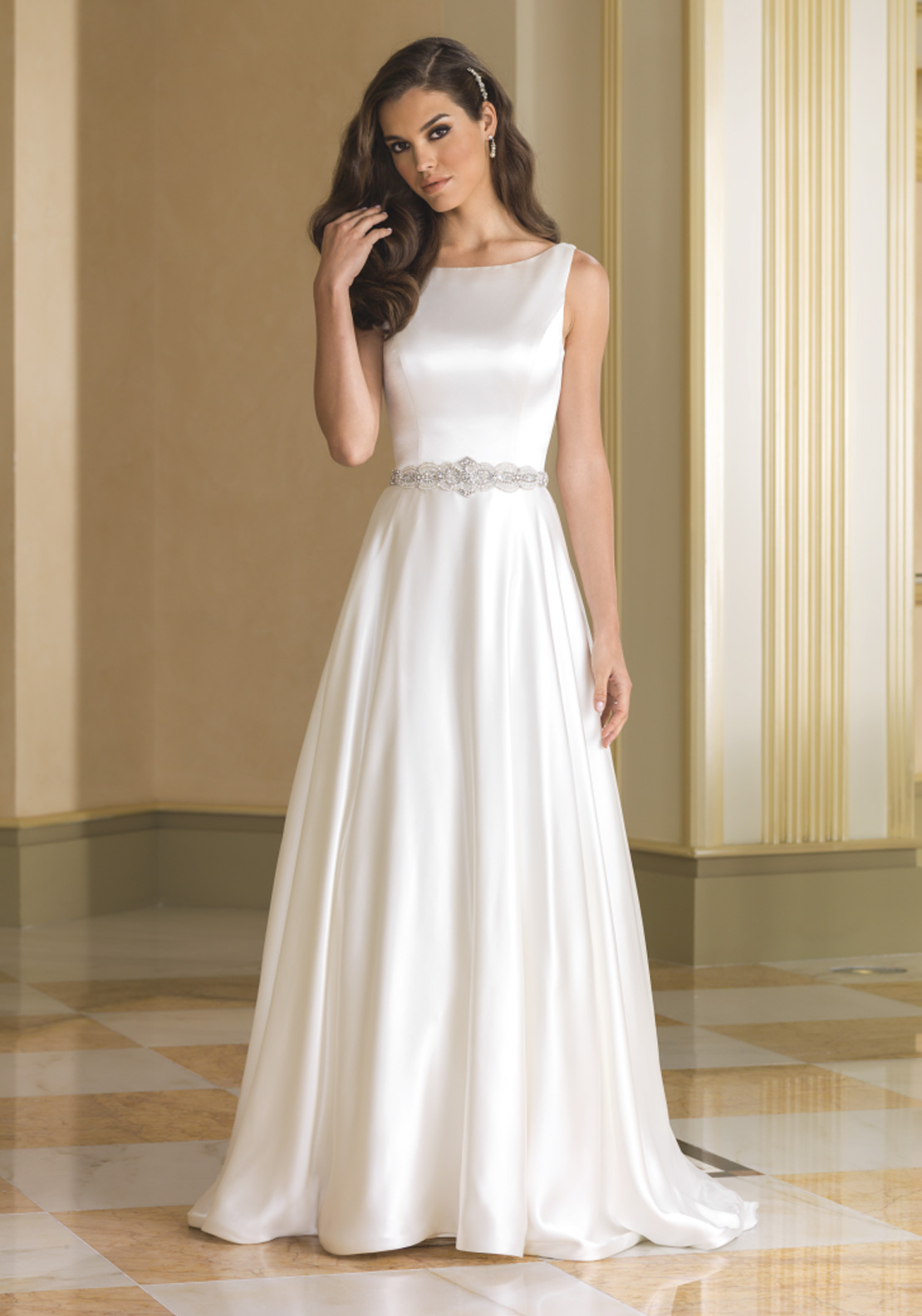 Justin Alexander 8866 Wedding Dress UK Size 14