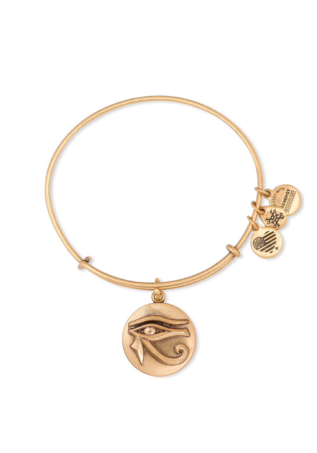 Alex and Ani Aye of Horus Bangle Gold