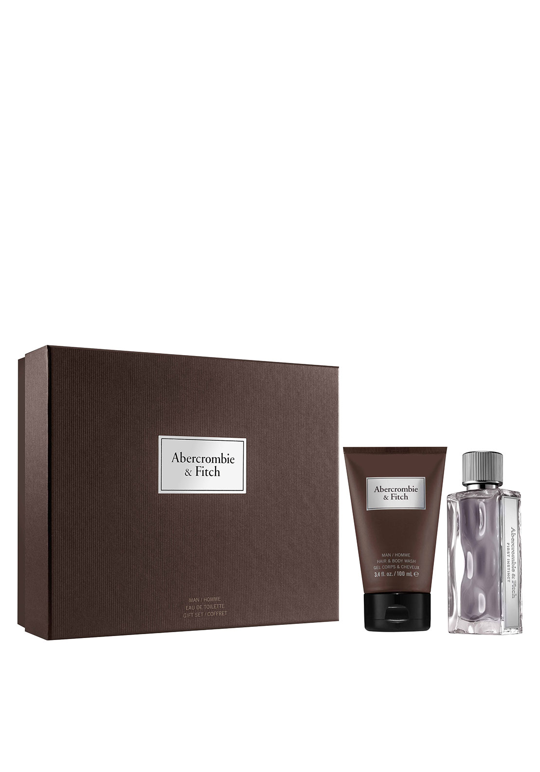 Abercrombie & Fitch First Instinct Gift Set For Men