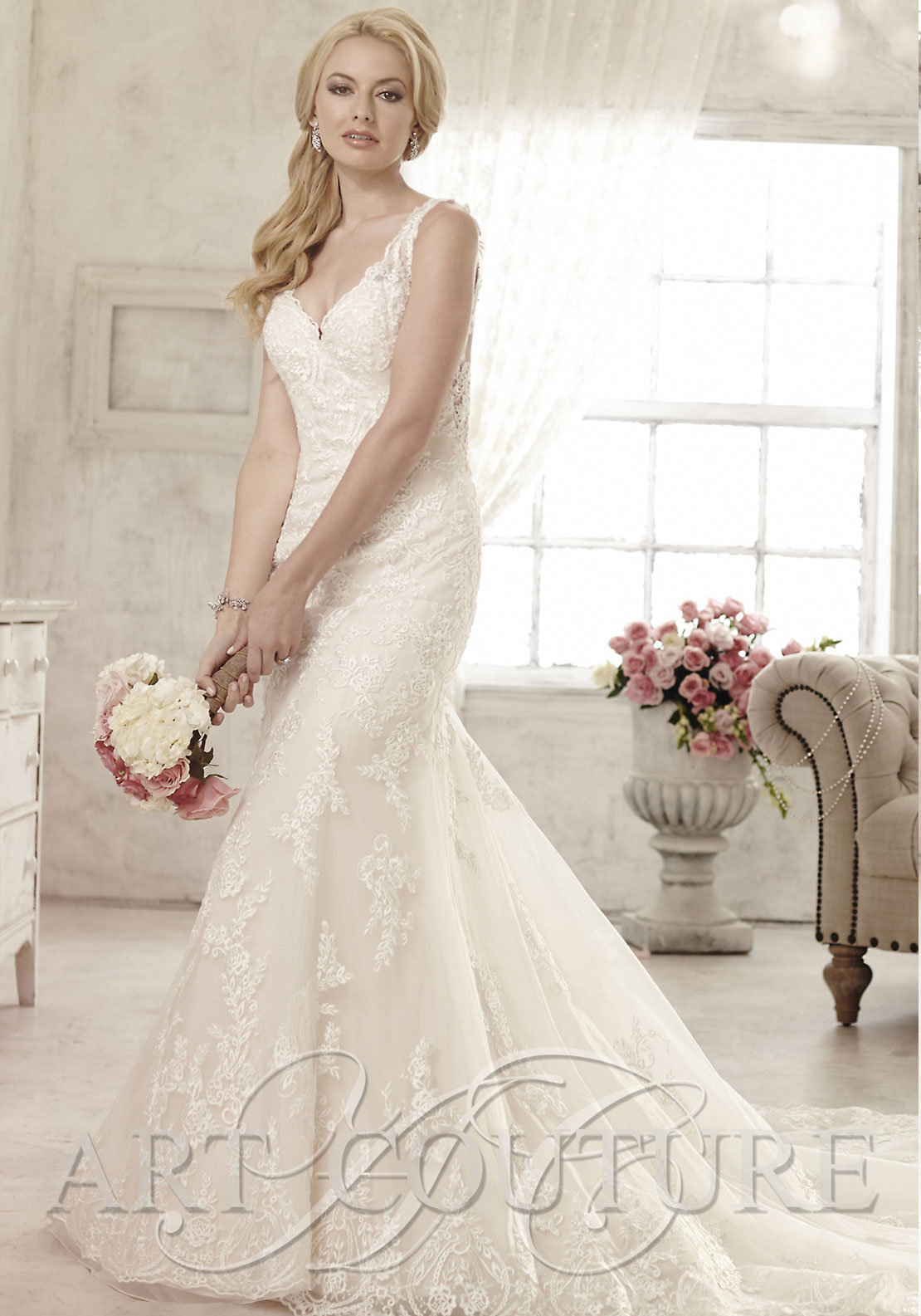 Art Couture AC478 Wedding Dress UK Size 12