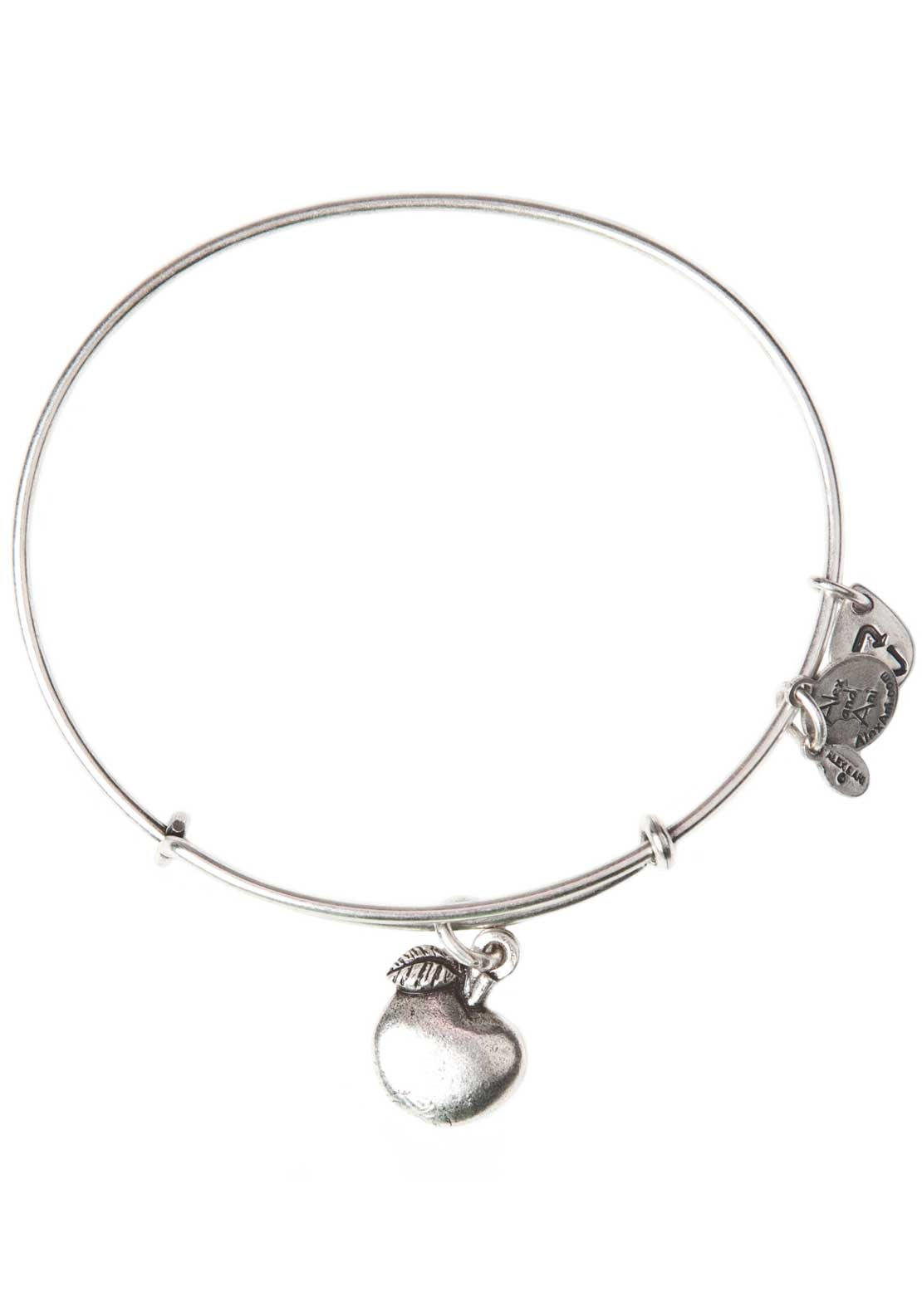 Alex and Ani (+) Energy Apple of Abundance Bracelet, Silver