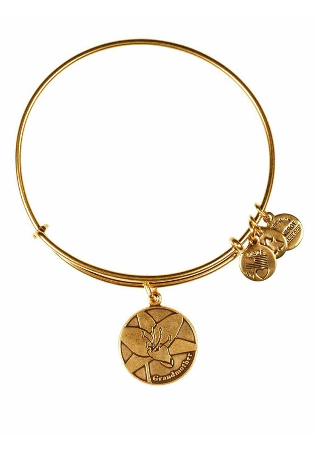 Alex and Ani Because I Love Grandmother Bracelet, Gold