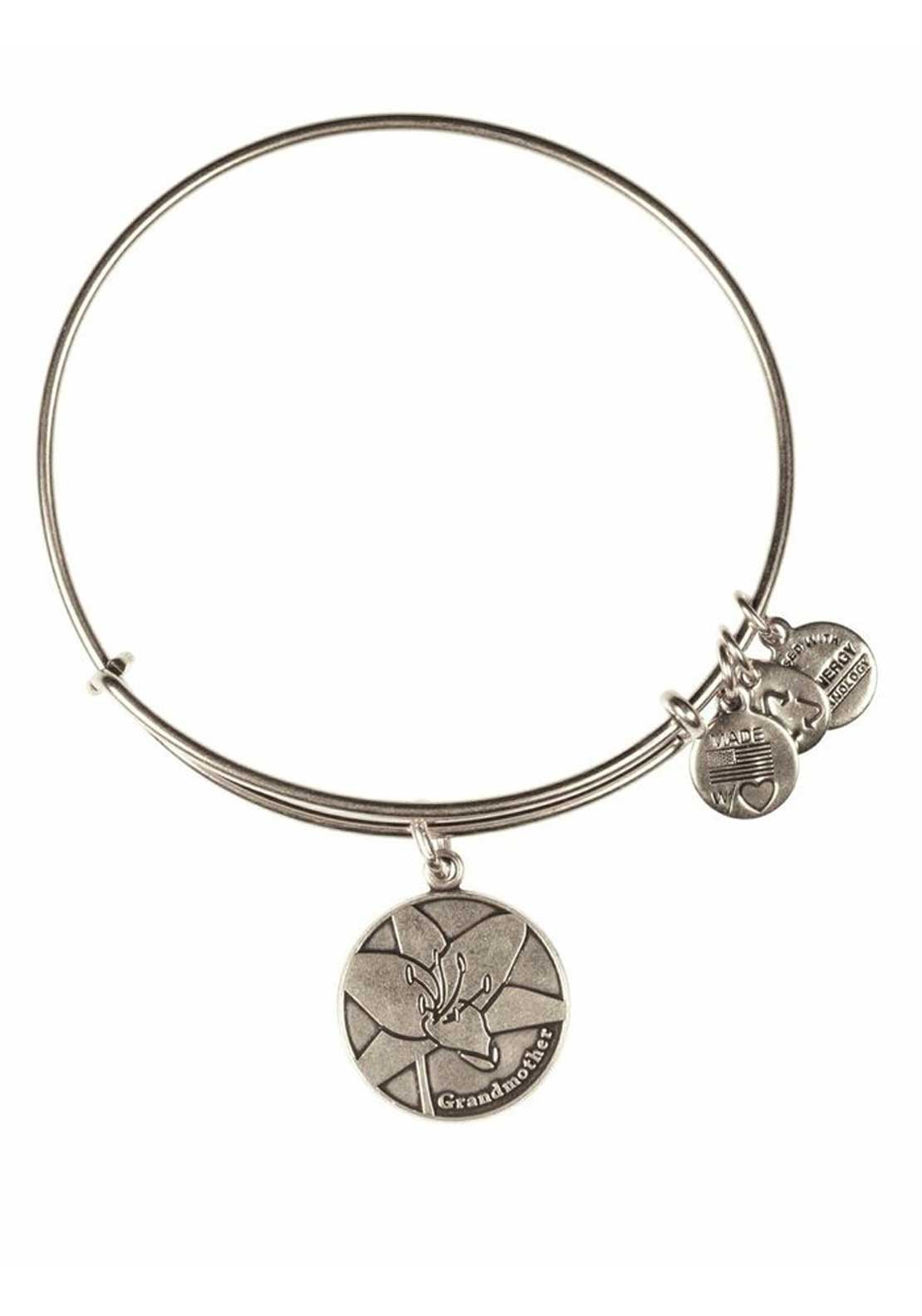 Alex and Ani Because I Love You Grandmother Bracelet, Silver