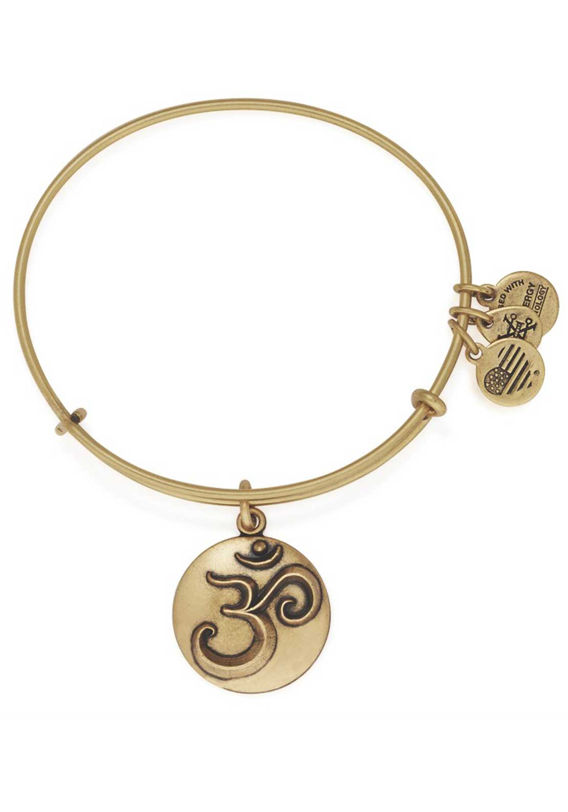 Alex and Ani Om Bracelet, Gold