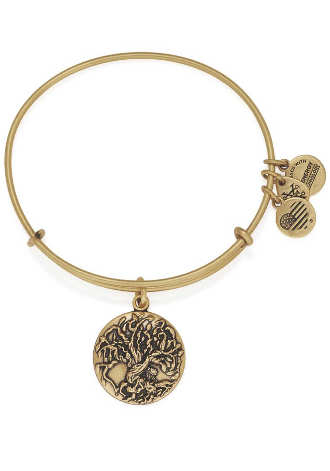 Alex and Ani Tree of Life Bracelet, Gold