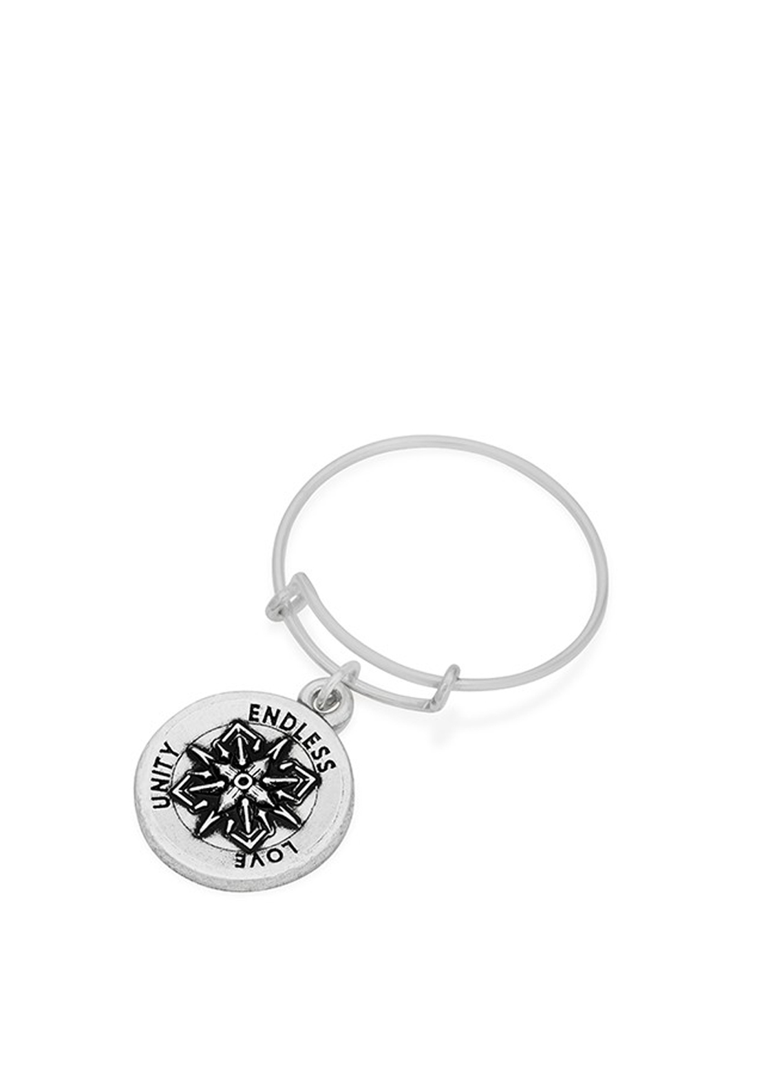 Alex and Ani Wire Healing Love Ring, Silver