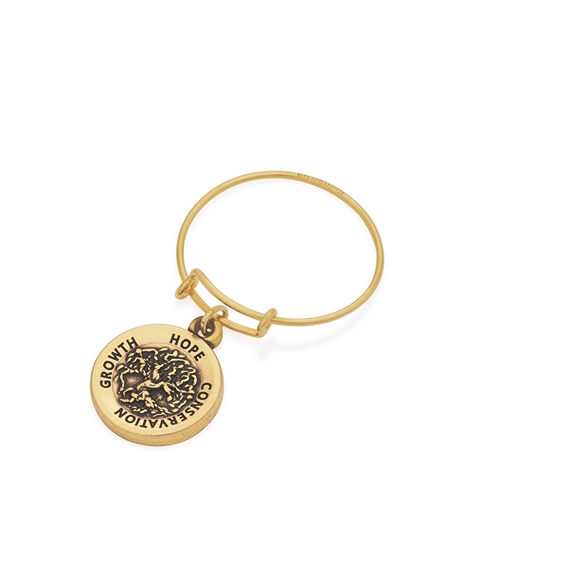Alex and Ani Wire Tree of Life Ring, Gold
