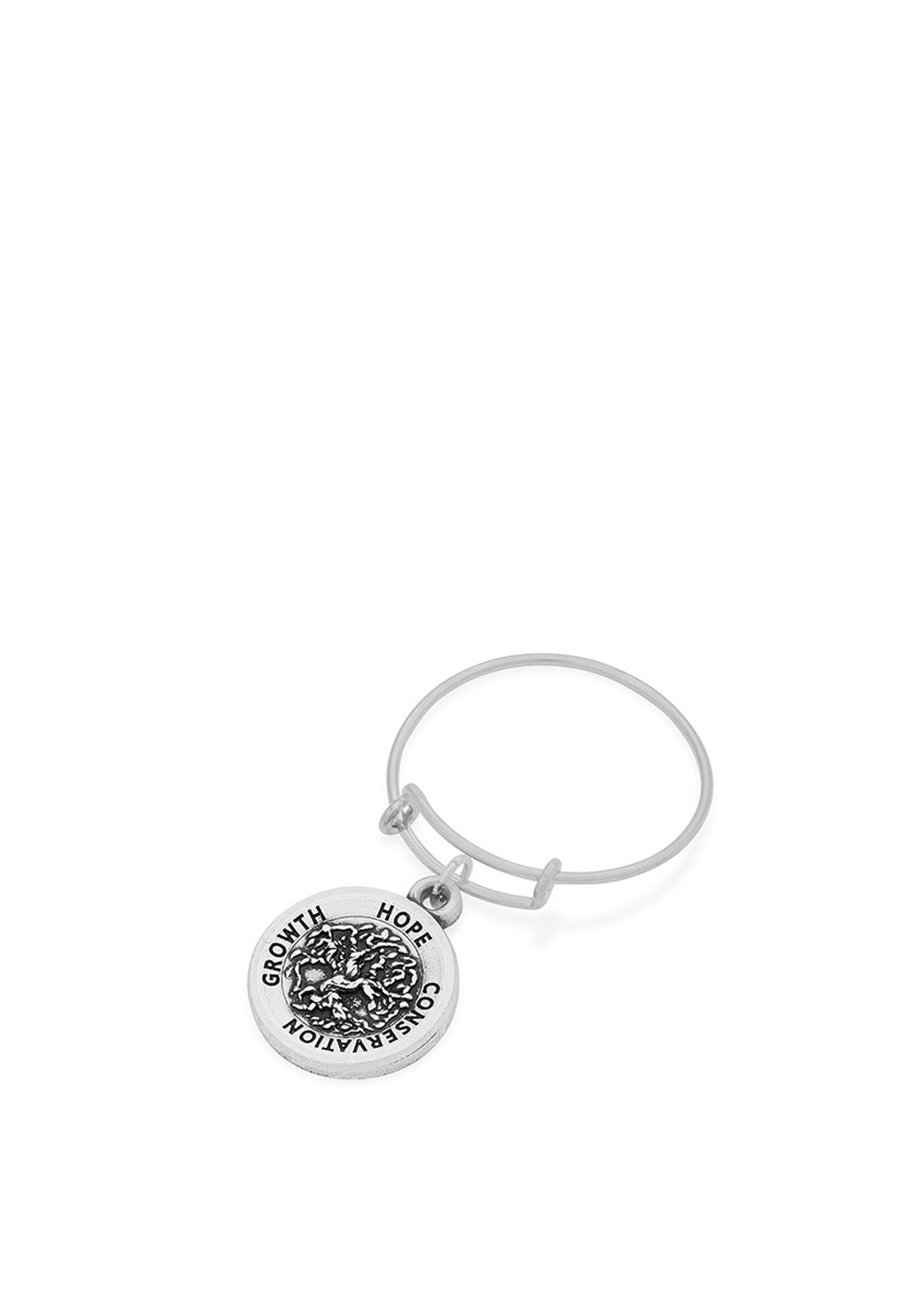 Alex and Ani Wire Tree of Life Ring, Silver
