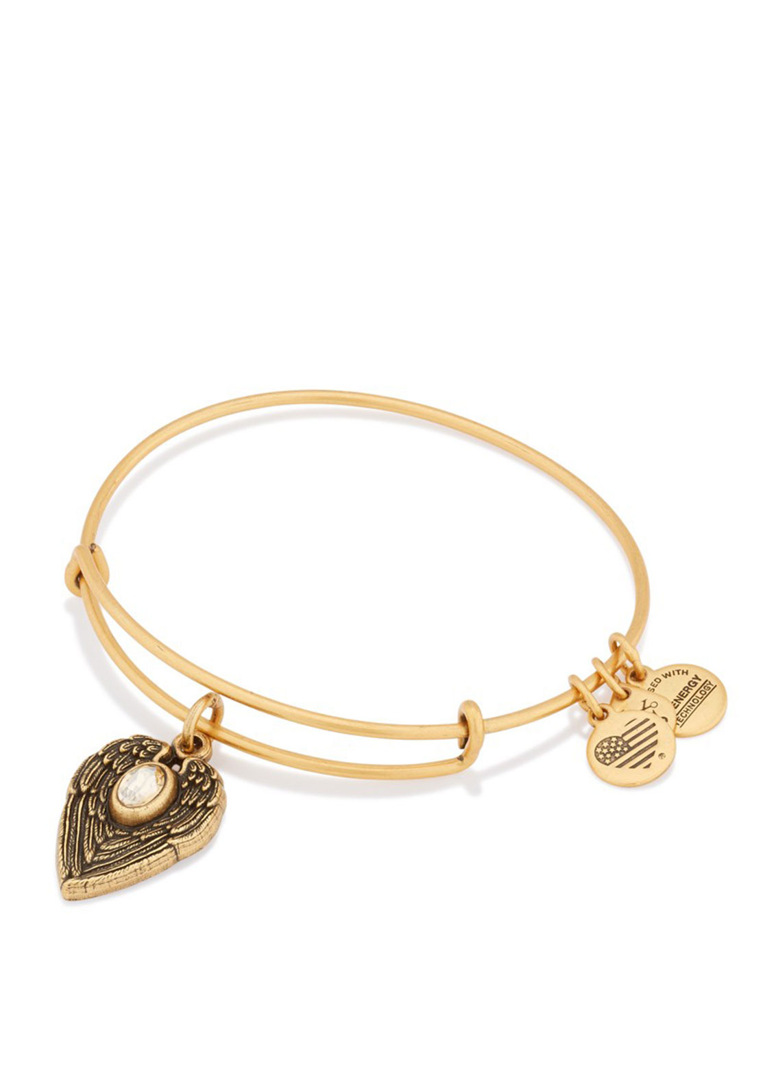 Alex and Ani Guardian Angel Charm Bangle, Gold
