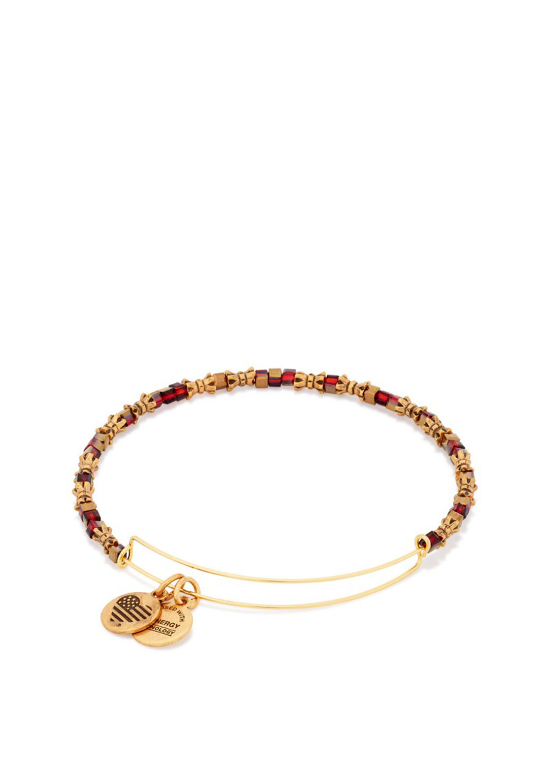 Alex and Ani Golden Days Spirit 2016 Edition Beaded Bangle, Gold
