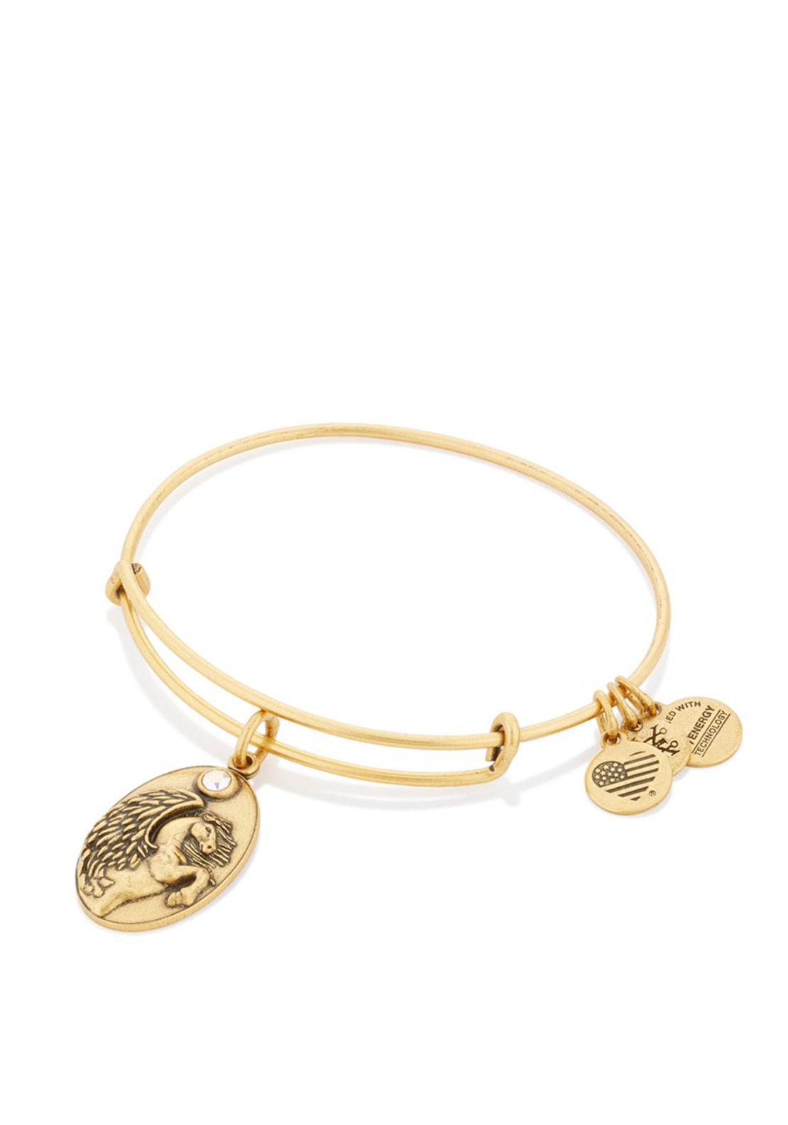 Alex and Ani Pegasus Charm Bracelet, Gold