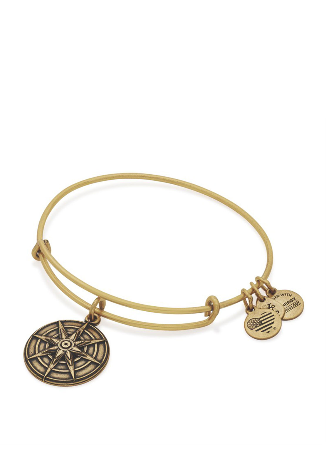 Alex and Ani Star of Venus III Bracelet, Gold