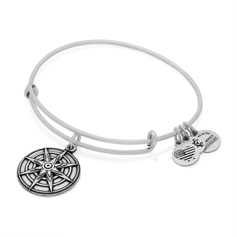 Alex and Ani Star of Venus Bracelet, Silver