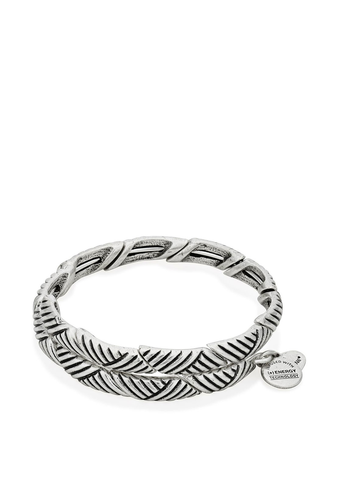Alex and Ani Rolling Hills Wrap Bracelet, Silver
