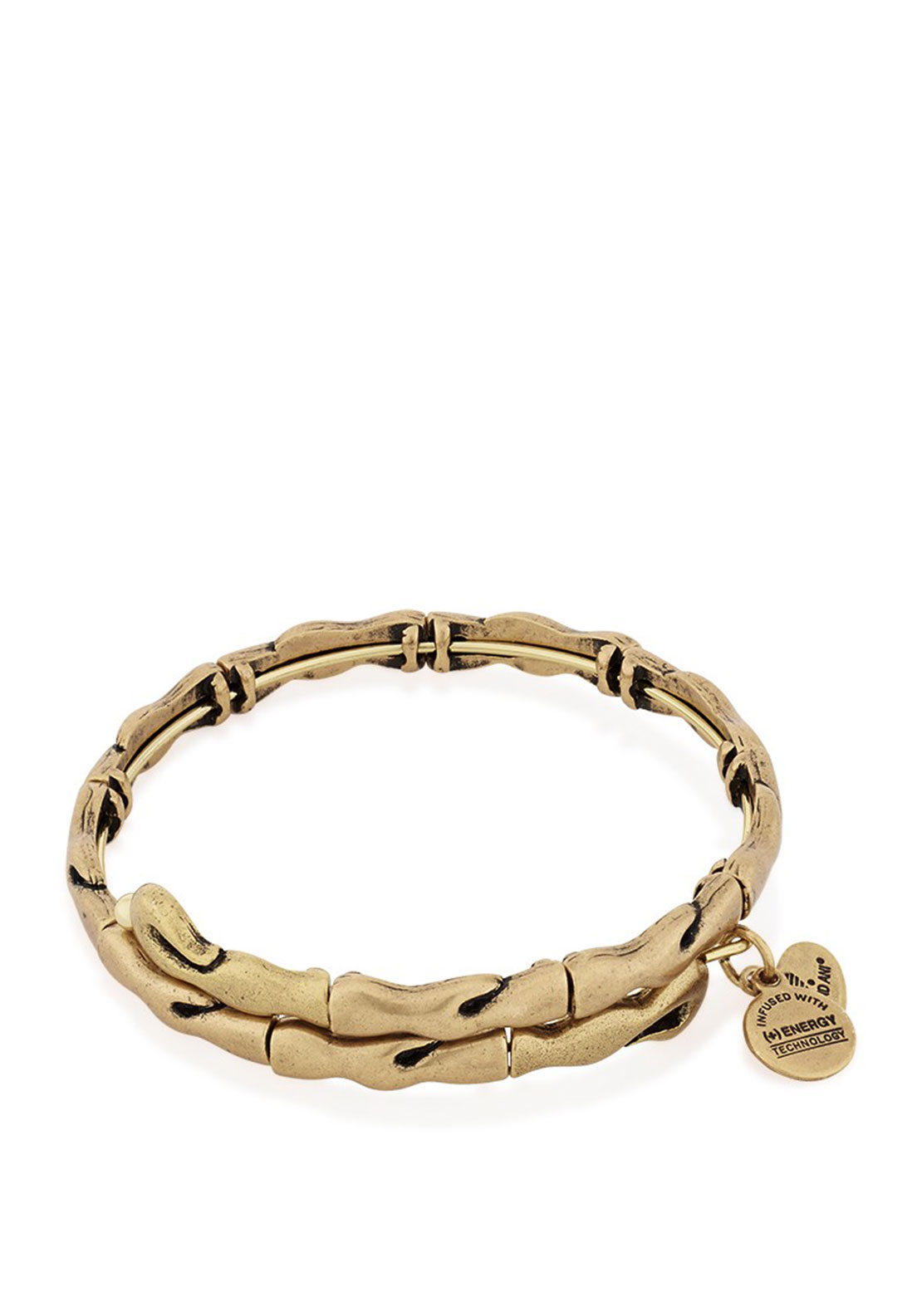 Alex and Ani Water Wrap Bracelet, Gold Plated
