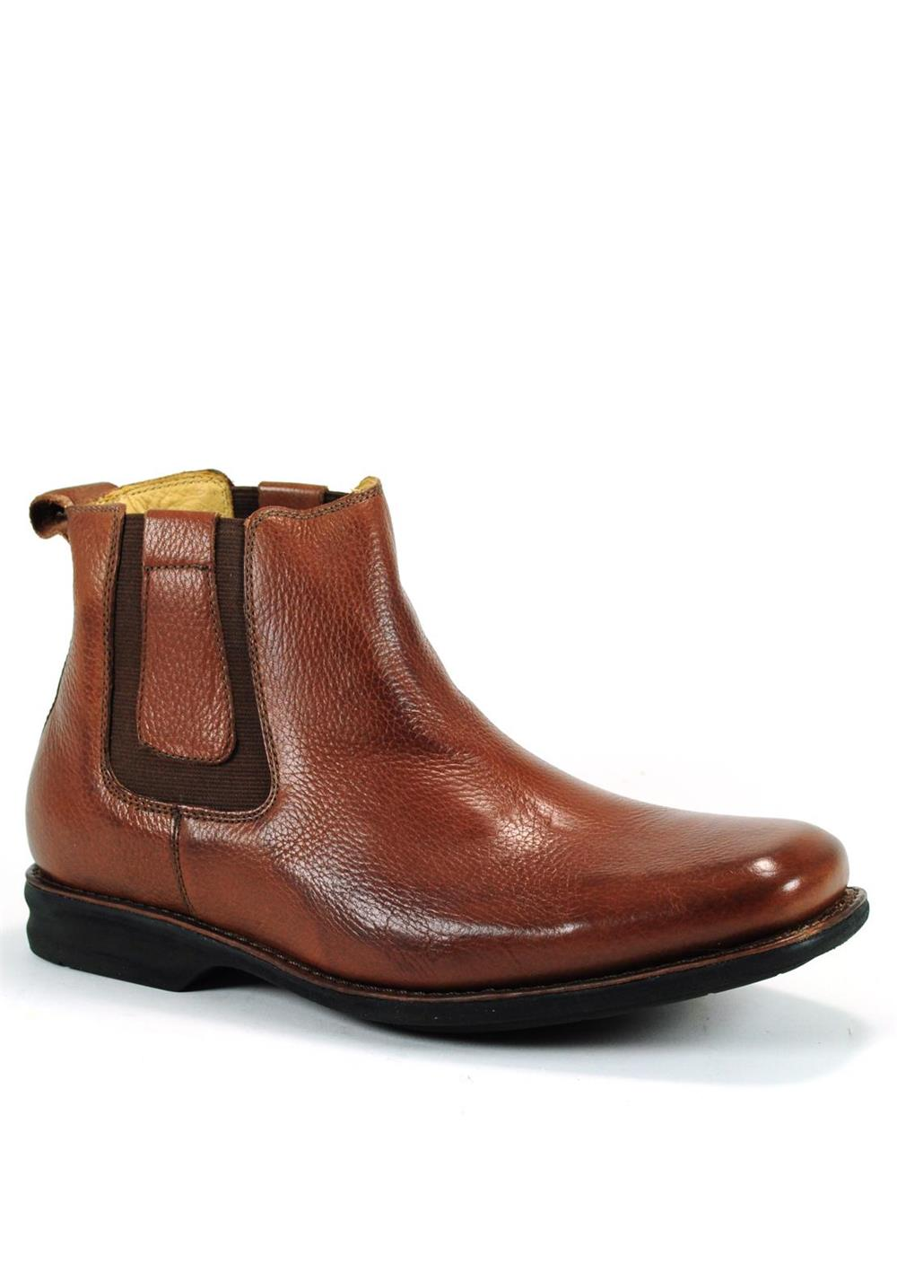 Anatomic & Co Mens Amazonas Chelsea Leather Boot, Tan