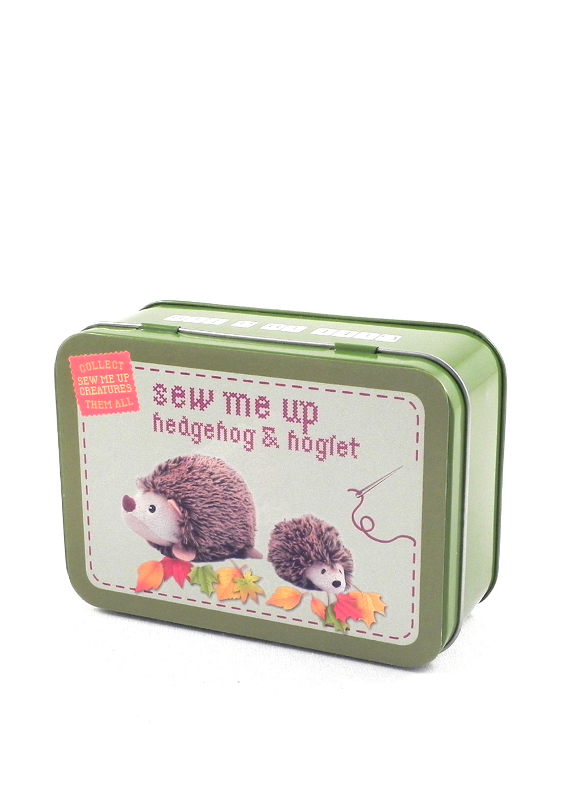 Apple to Pears Hedgehog & Hoglet Sewing Kit