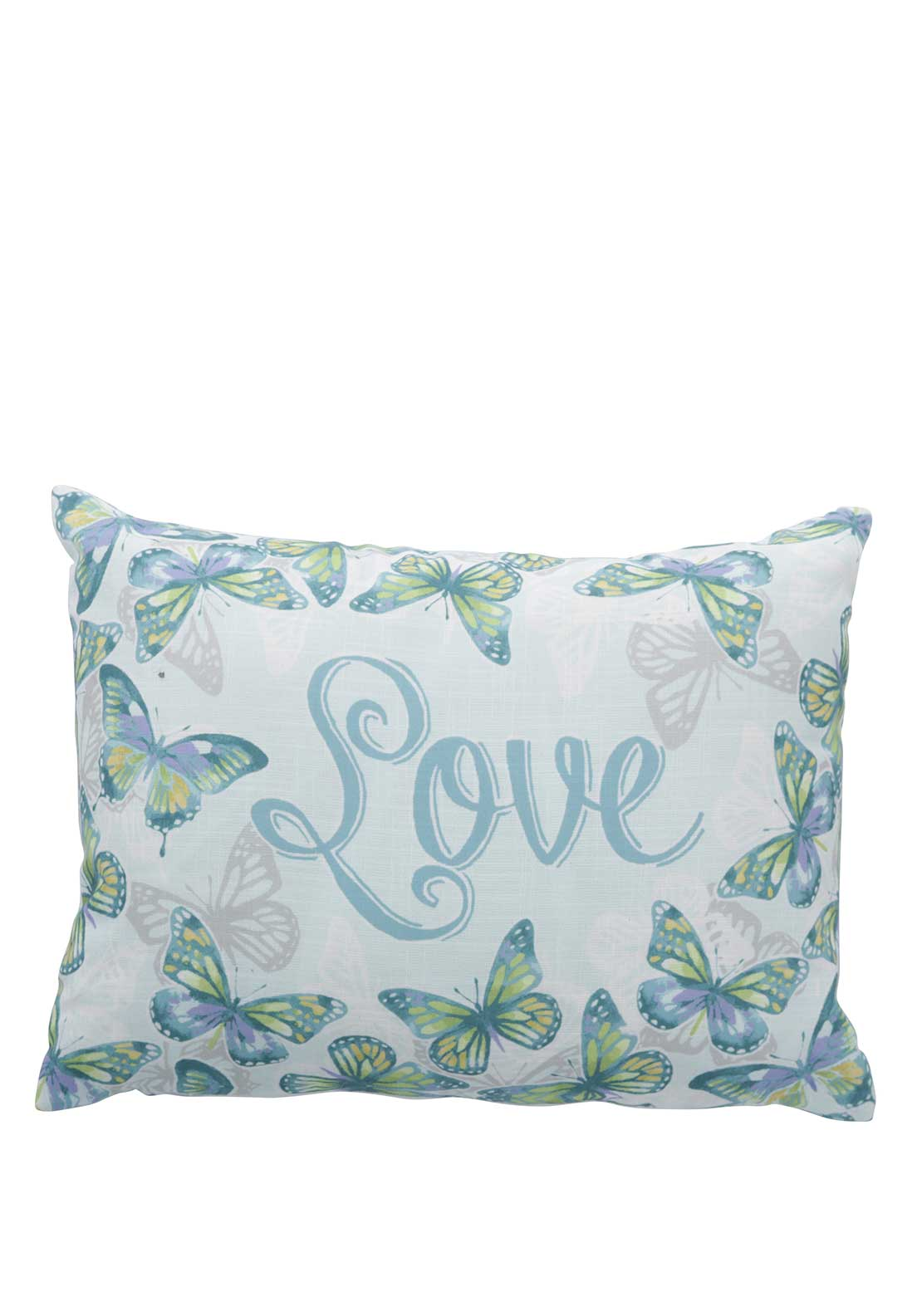 Appletree Lottie Cushion, Duck Egg