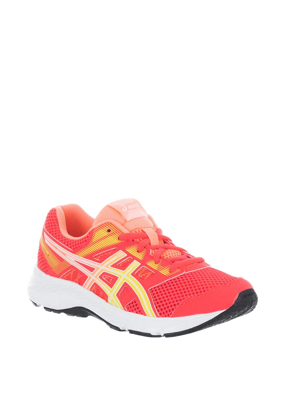 Asics Girls Contend 5 Trainers, Coral