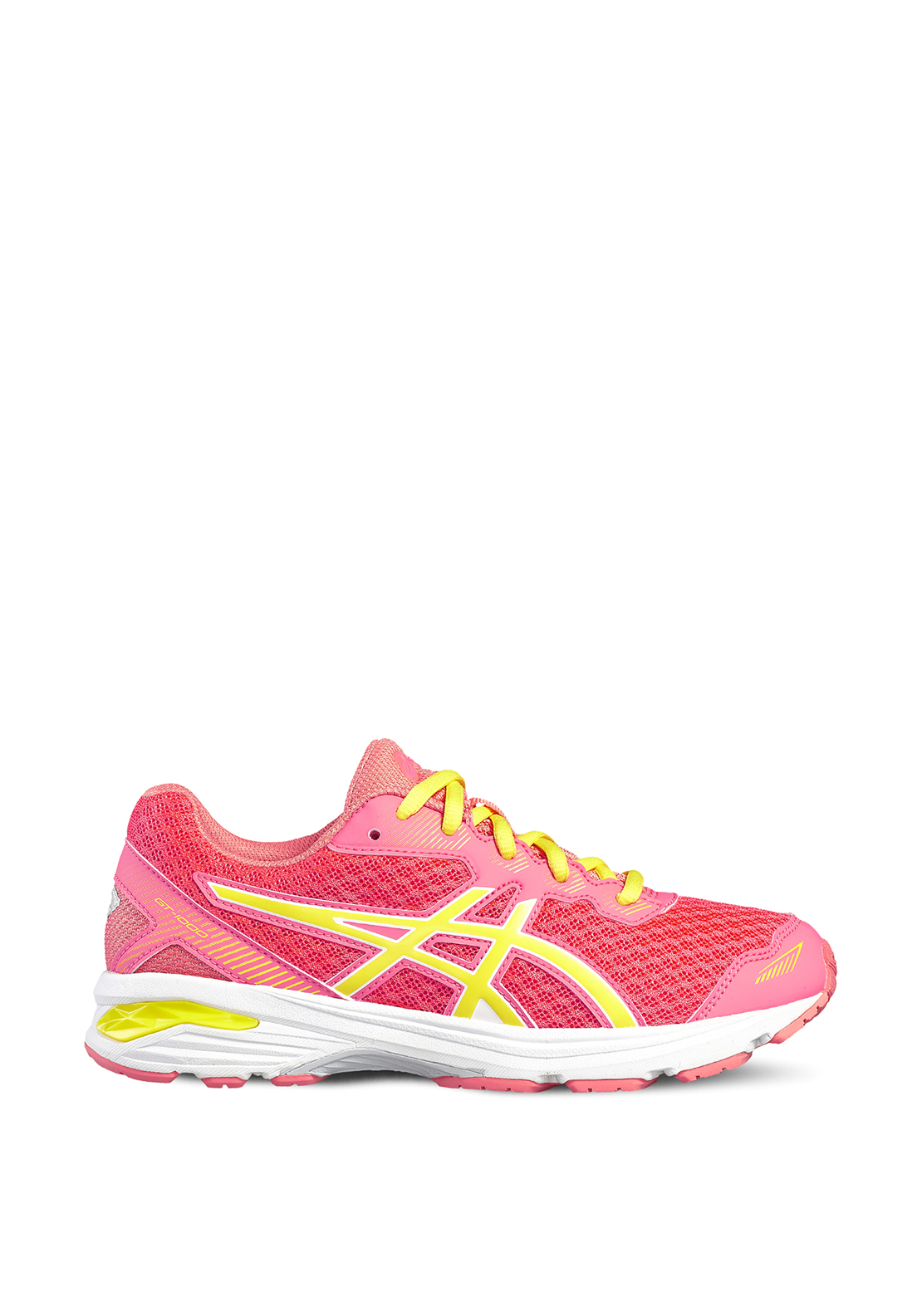 Asics Girls GT-1000 Runners, Coral and Peach