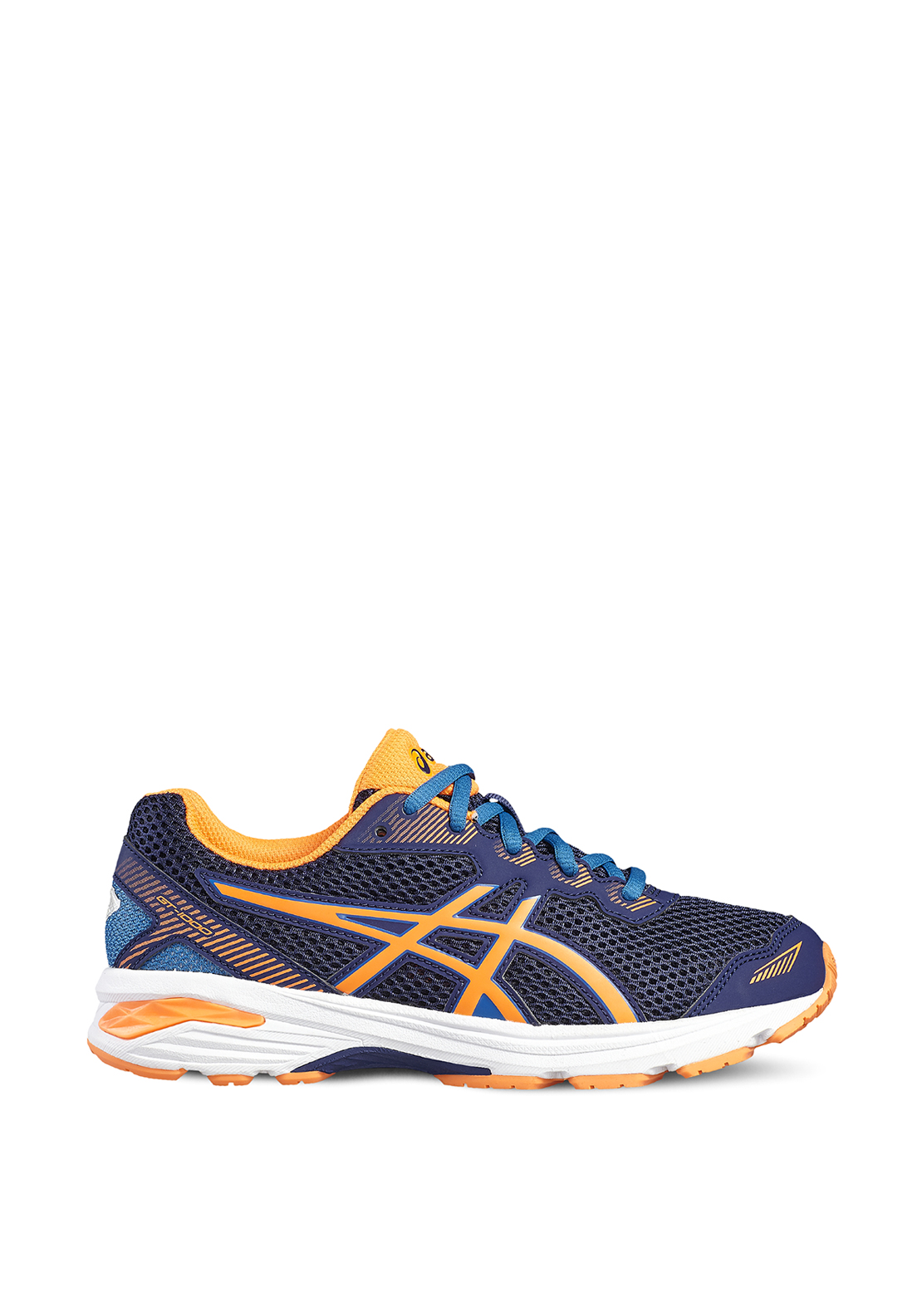Asics Kids GT-1000 Runners, Navy and Orange