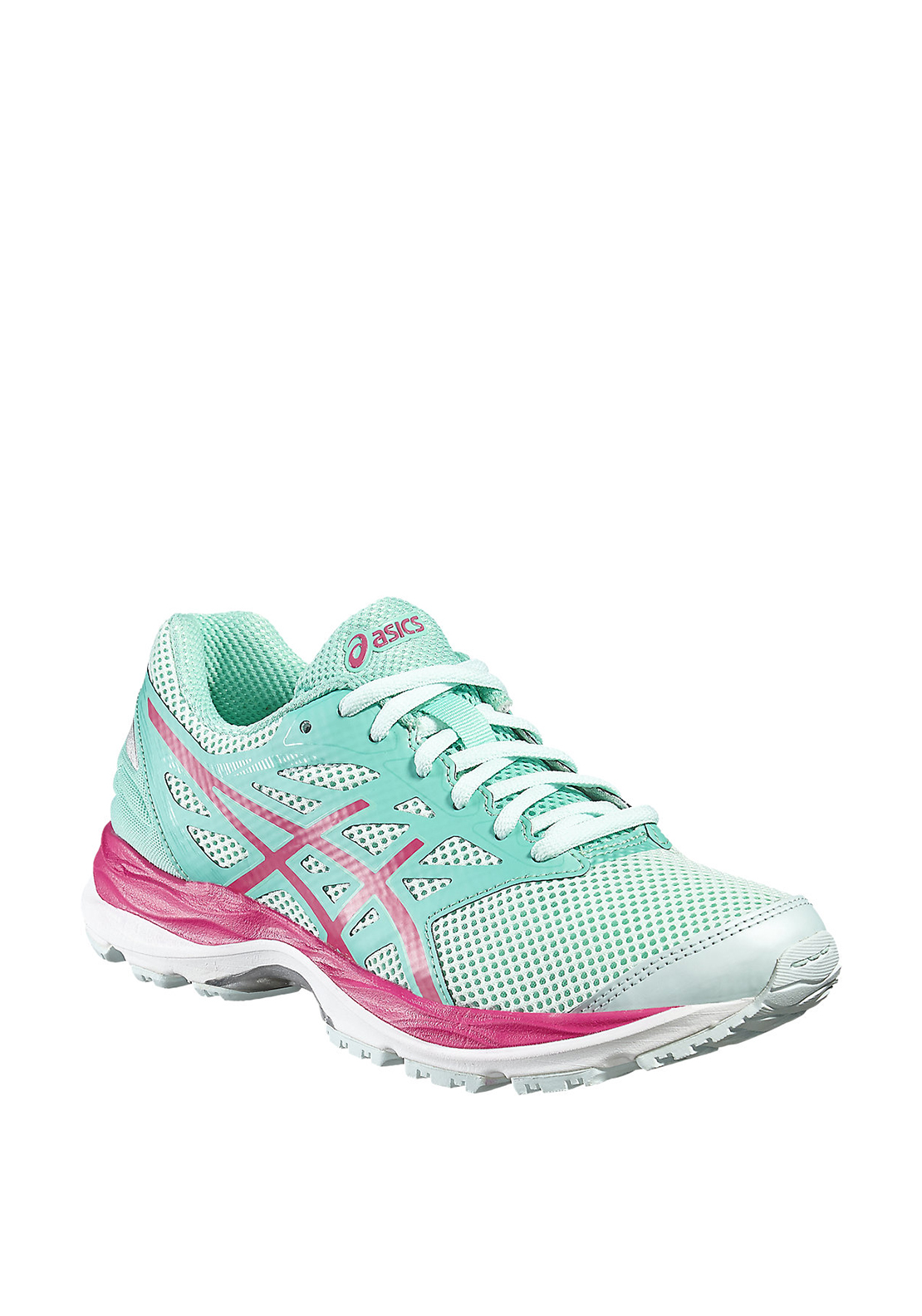 Asics Girls Gel Cumulus 18 Runners, Mint