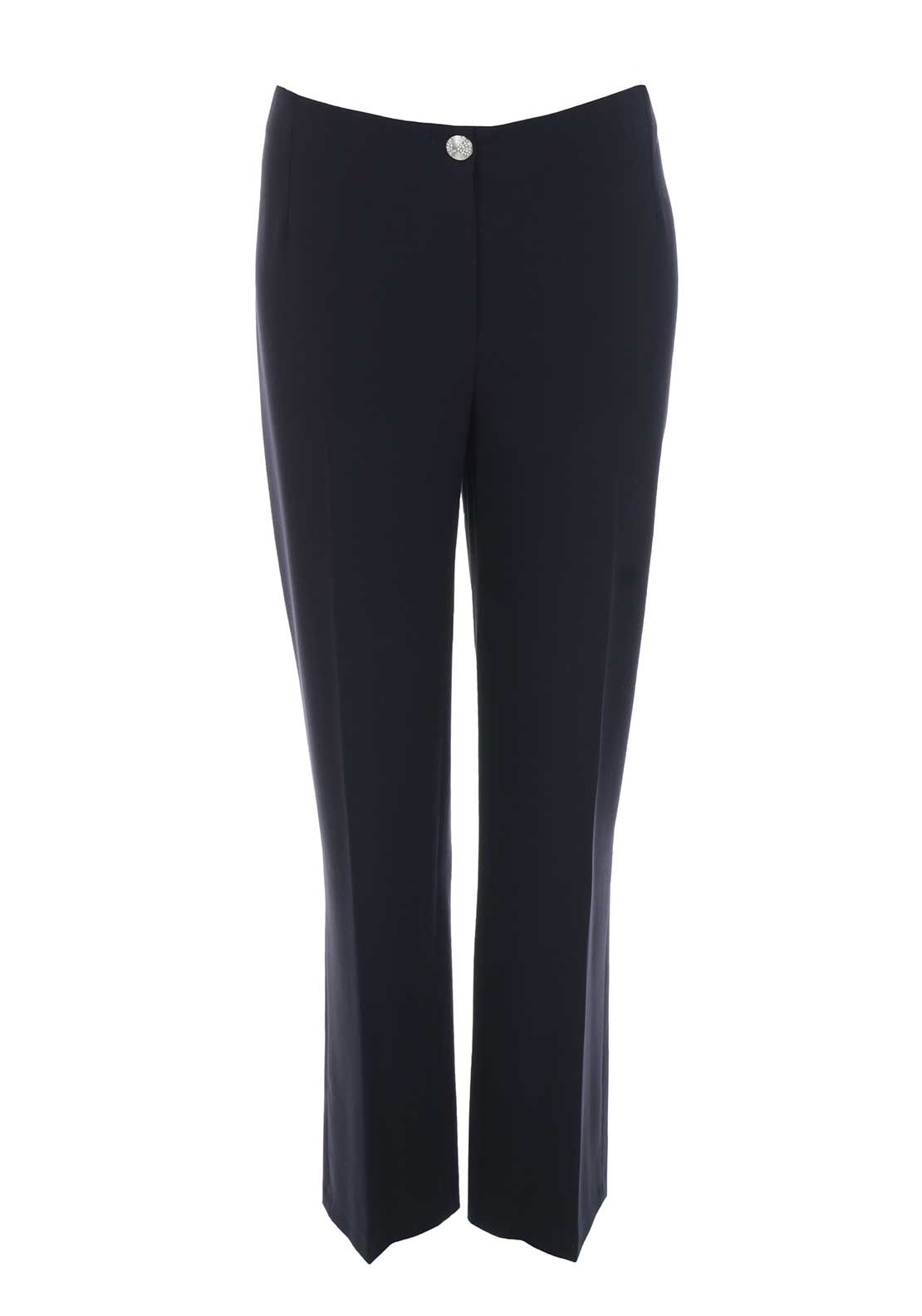 Avalon Straight Leg Trousers, Navy