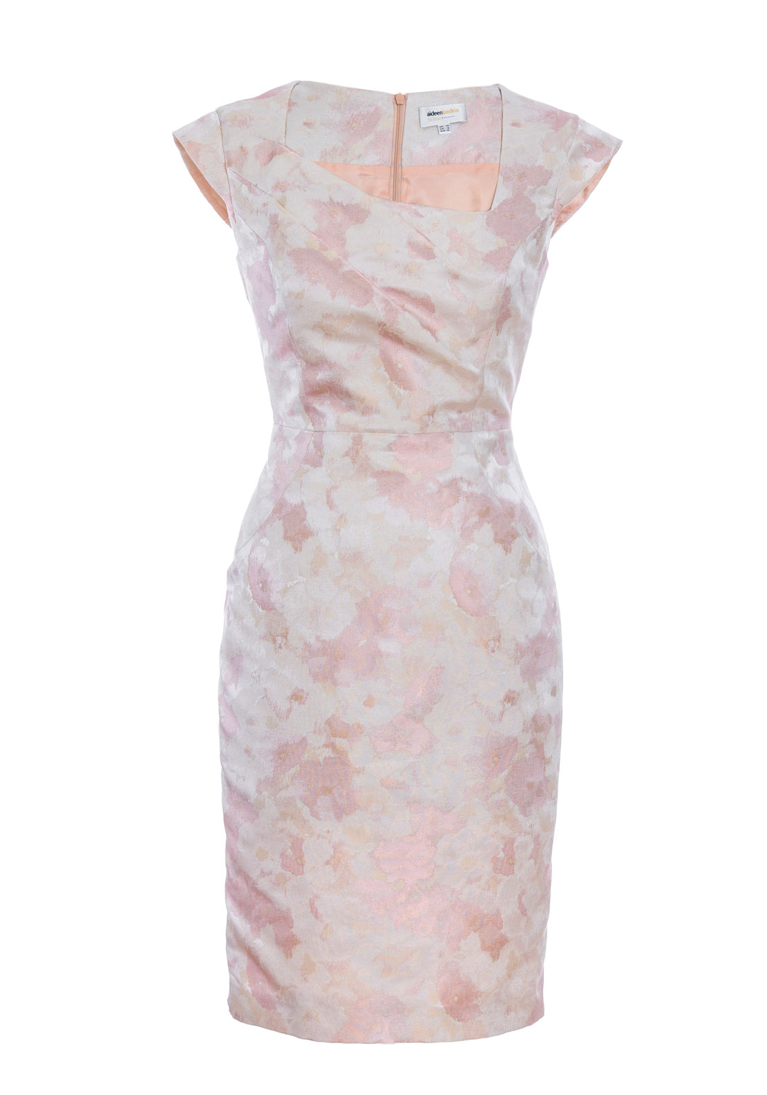 Aideen Bodkin Azalea Floral Dress, Jacquard