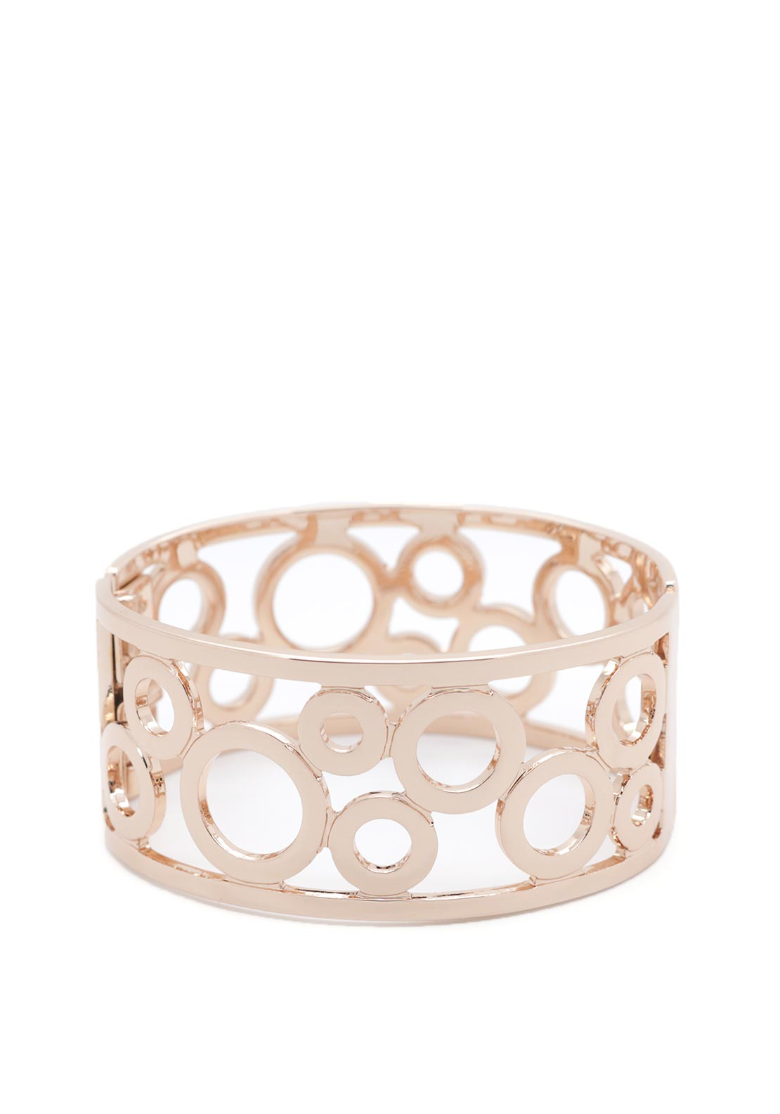 Absolute Cuff Bangle, Rose Gold