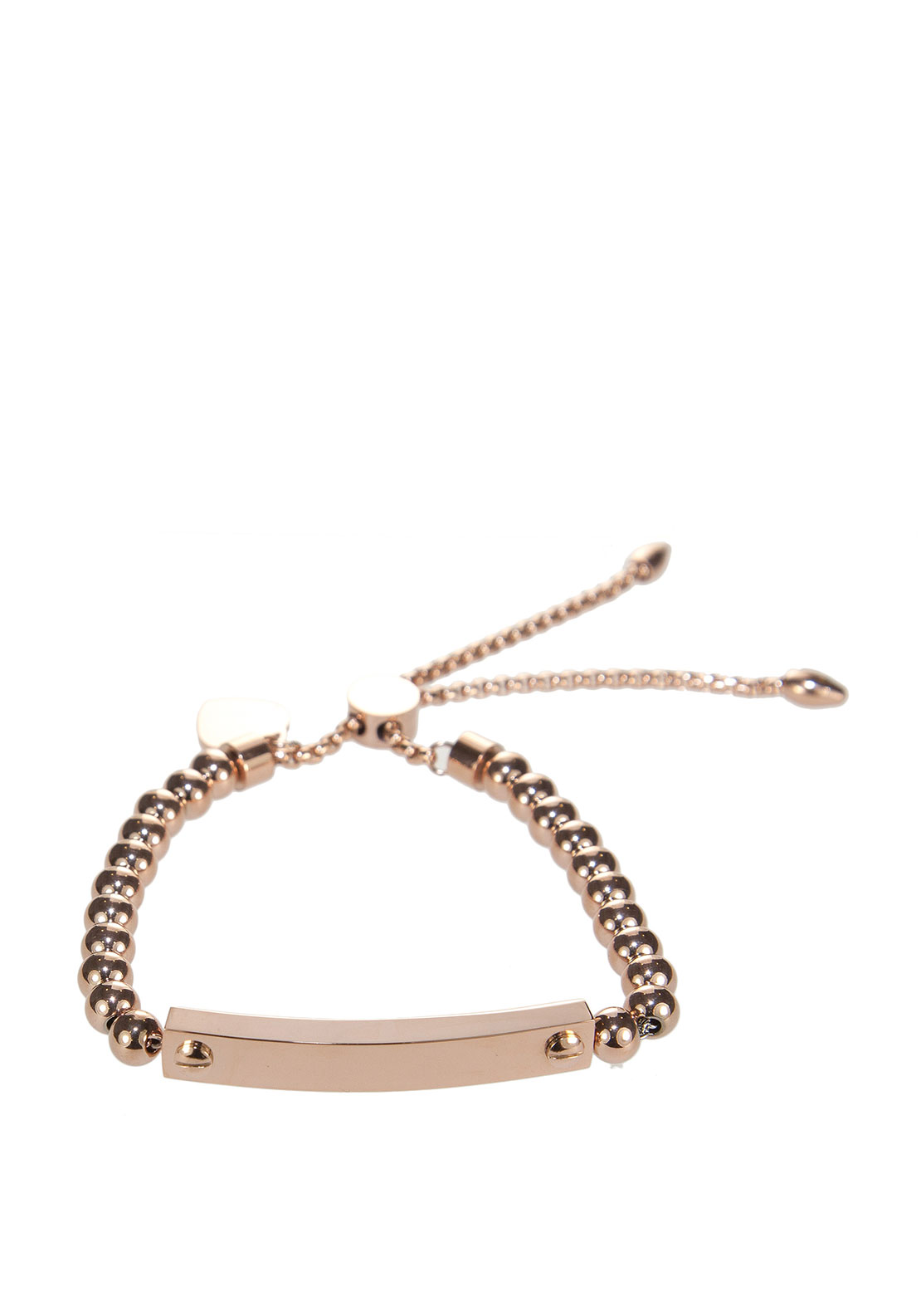 Absolute Tennis Slider Bracelet, Rose Gold