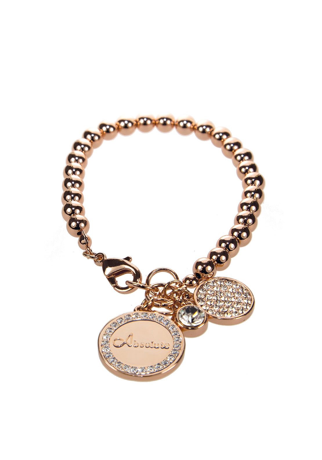 Absolute Fine Pearl Charm Bracelet, Rose Gold