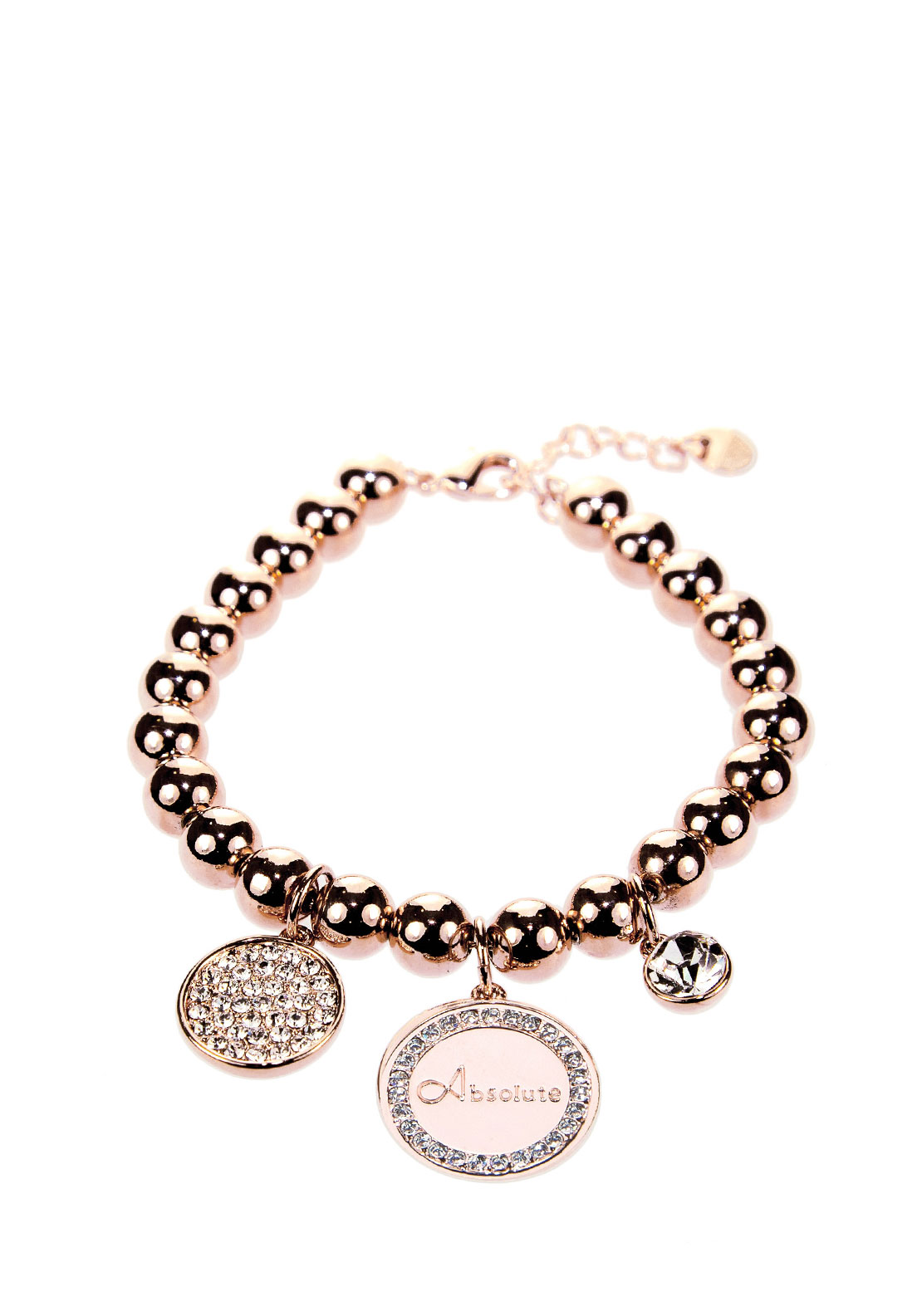 Absolute Pearl Charm Bracelet, Rose Gold
