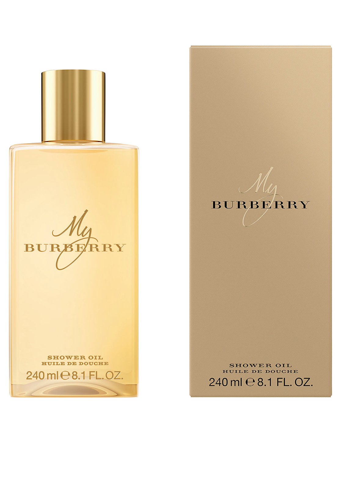 My Burberry Shower Oil for Women, 240ml
