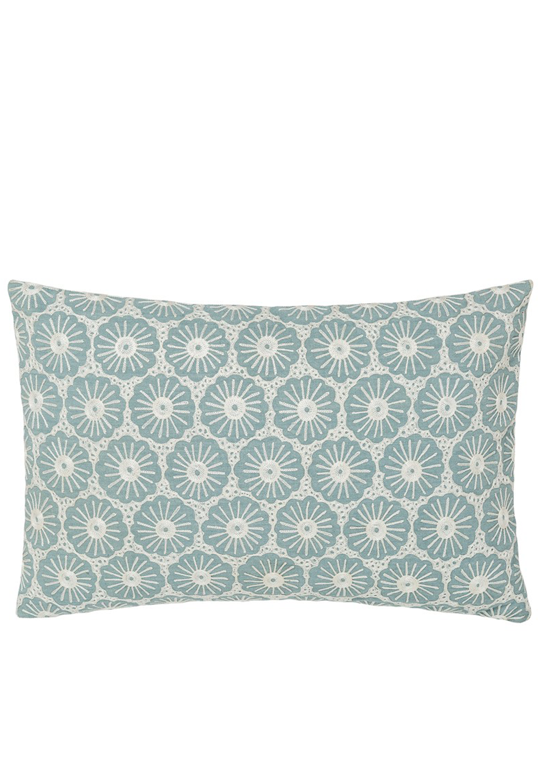 Fable Olivia Cushion, 45 x 30cm Duckegg