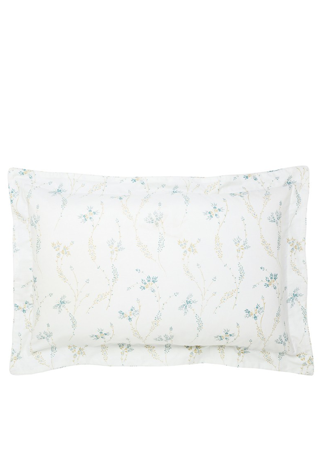 Fable Kassia Oxford Pillowcase, Duck Egg