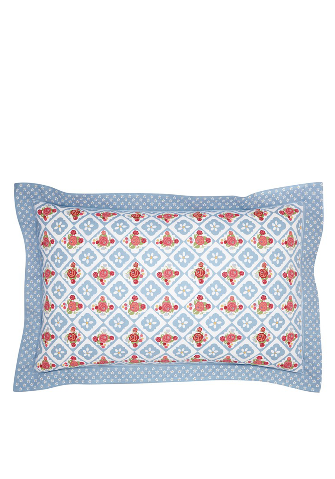 Julie & Dodsworth Sunday Best Oxford Pillowcase, Blue
